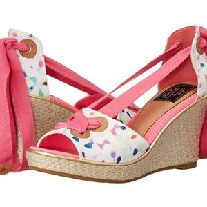 MILLY for SPERRY TOP-SIDER WEDGES SIZE 7M